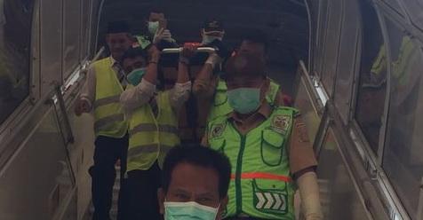 Jamaah Haji Daerah Ini Meninggal Di Pesawat Dalam Perjalanan Pulang Ke Tanah Air