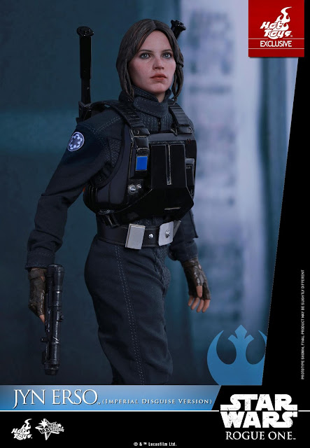 osw.zone Hot Toys Star Wars Rogue A 1/6 scale Jyn Erso (Imperial Disguise version) 12 inch figure