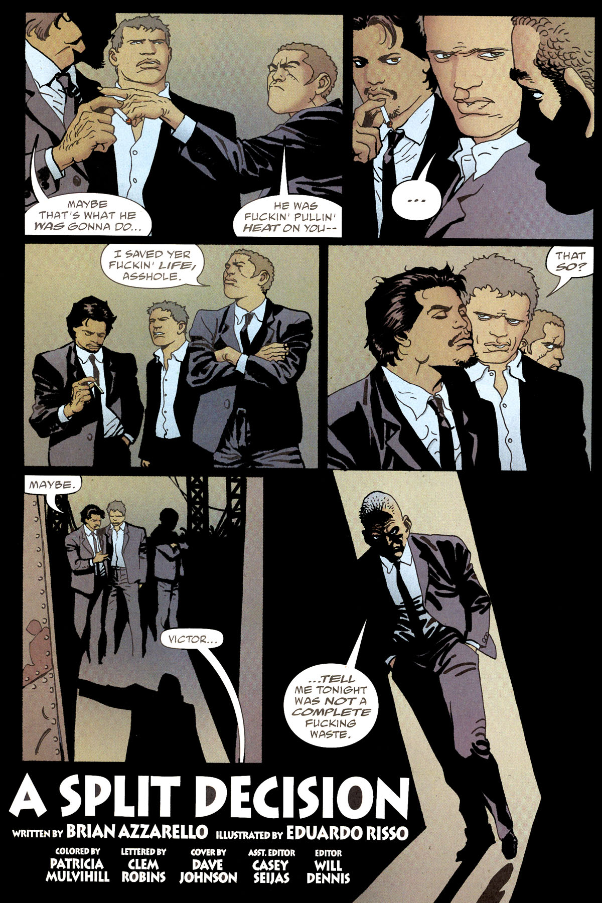 Read online 100 Bullets comic -  Issue #80 - 5
