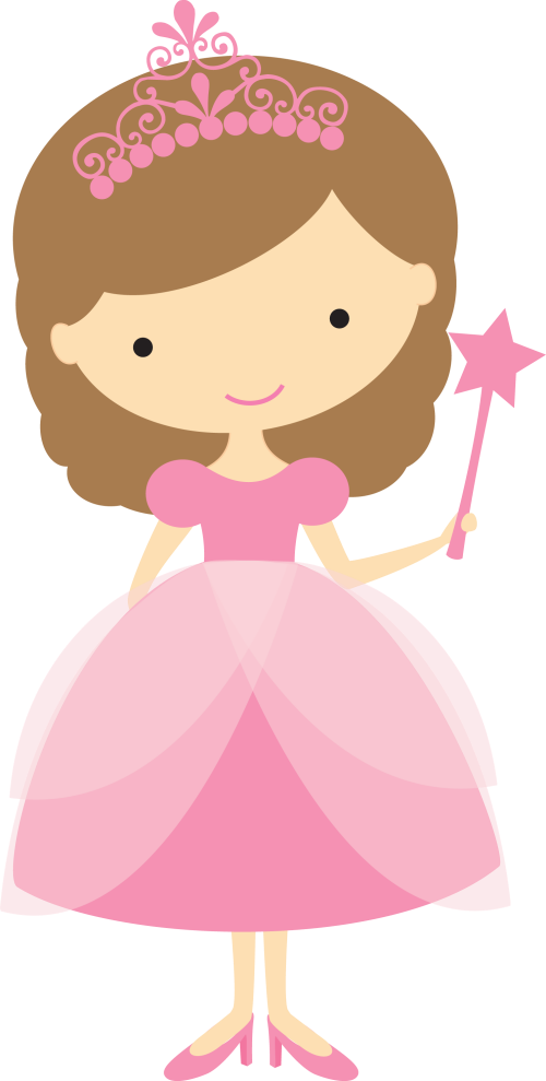 Pretty Princess Clip Art. - Oh My Fiesta! in english