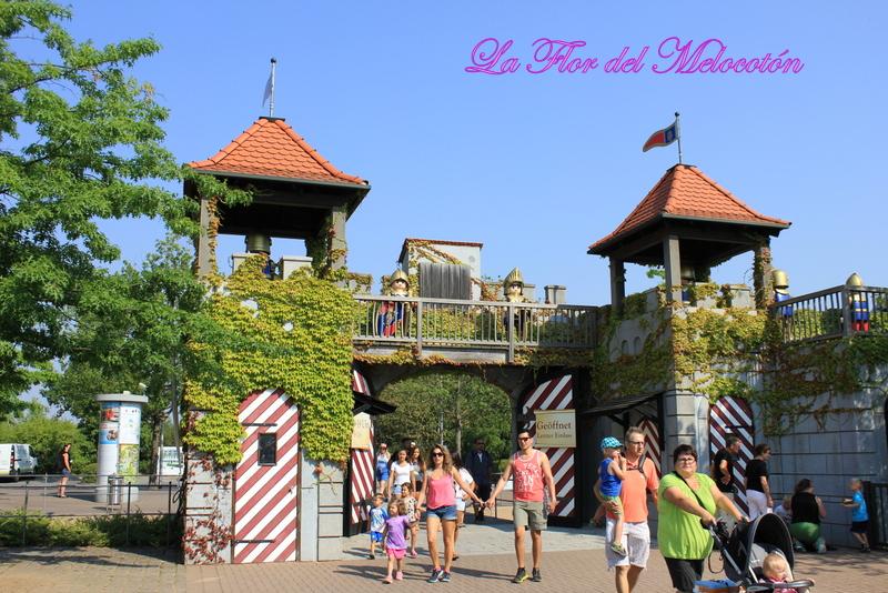 Castillo de los caballeros del parque de Playmobil
