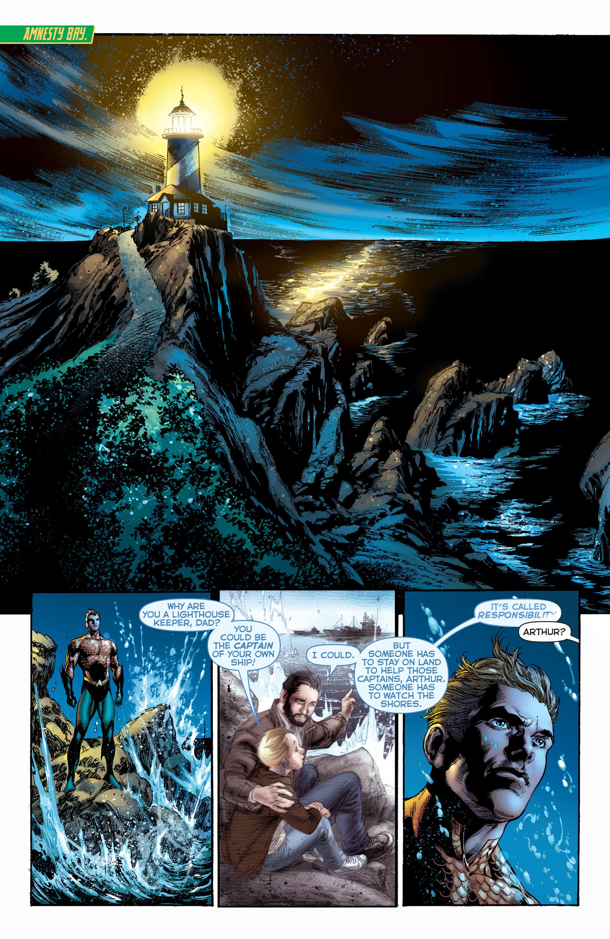 Read online Aquaman (2011) comic -  Issue #1 - 19