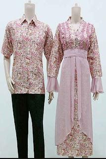 Model Gamis Batik Pakai Bolero