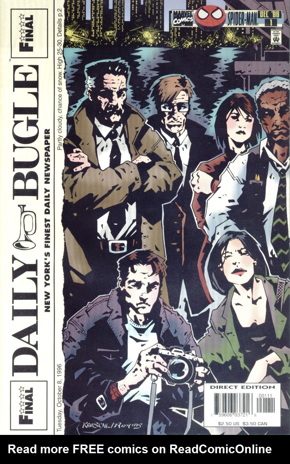 Read online Daily Bugle (1996) comic -  Issue #1 - 1
