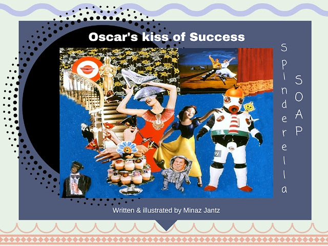 Spinderella Soap: Soap Scene #23 'Oscar's Kiss of Success' written & illustrated by Minaz Jantz