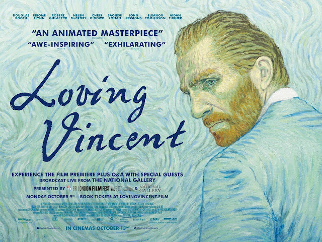 Loving Vincent, Eleanor Tomlinson, Aidan Turner, UK premiere