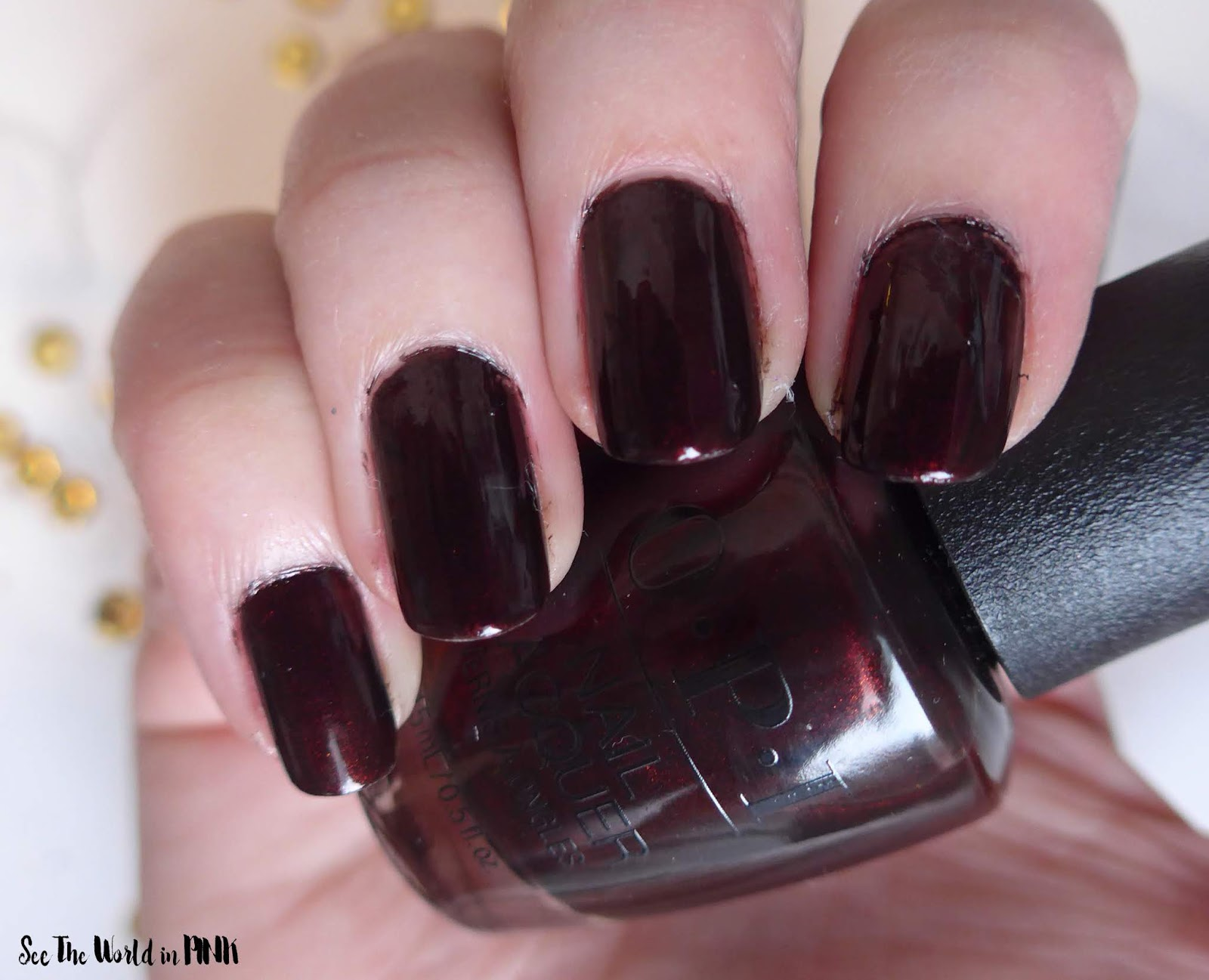 OPI The Nutcracker and the Four Realms Collection ~ Black To Reality