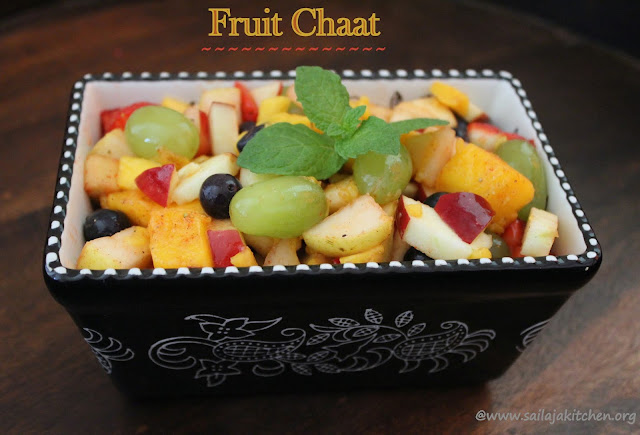 images of Fruit Chaat / Fresh Fruit Chaat / Mixed Fruit Chaat / Easy Fruit Chaat - Healthy Fruit Recipes