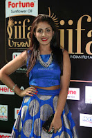 Madhu Shalini Looks Super Cute Slim trim Blue Choli Ghagra IIFA Utsavam Awards 033.JPG