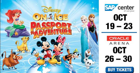 "Disney On Ice ""Passport To Adventure"" Bay Area Discount Code!"