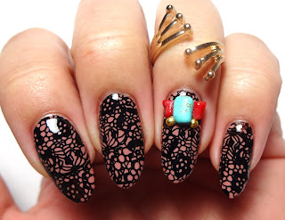 Stone Embellish Nails
