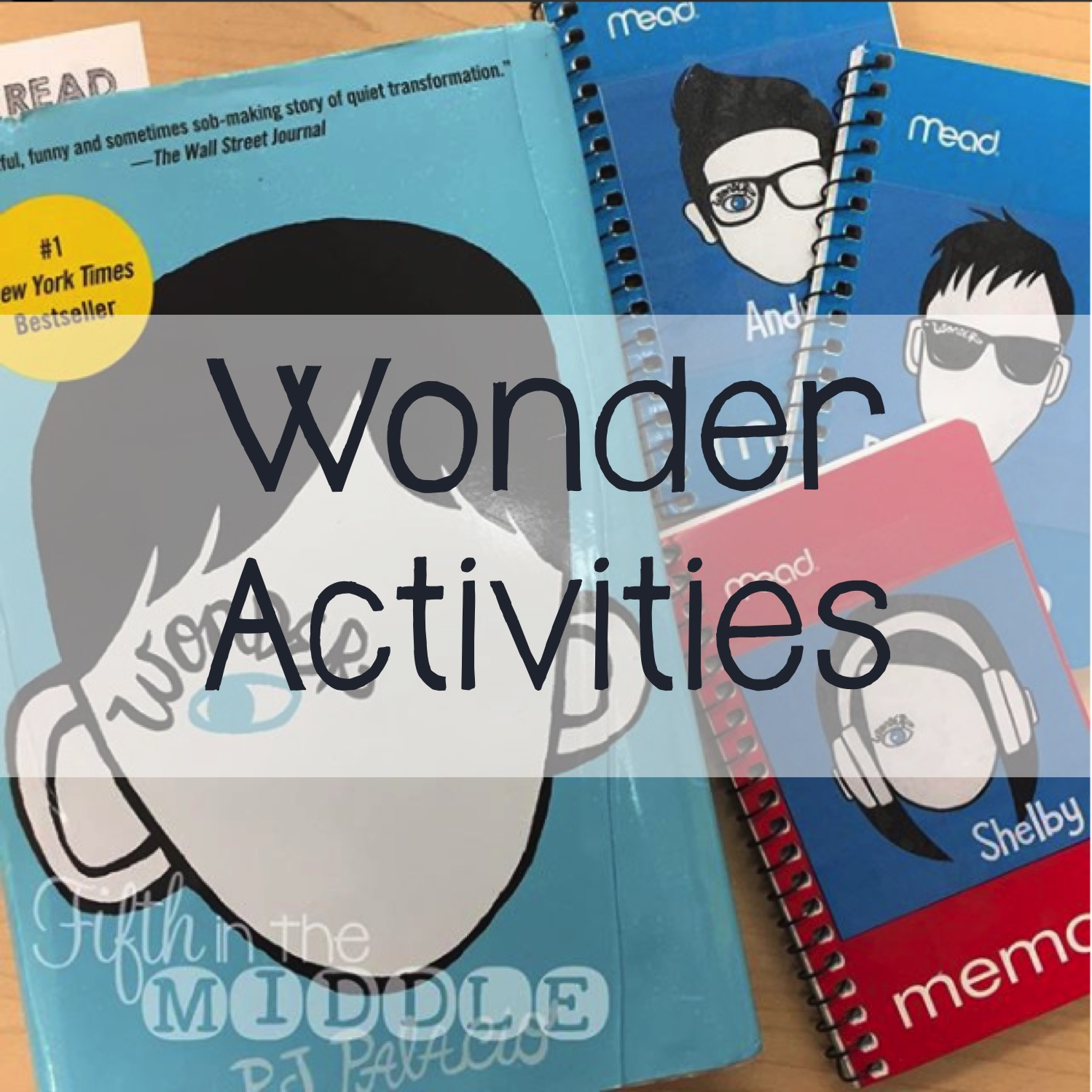 Ideas for implementing the book Wonder by R. J. Palacio in your classroom