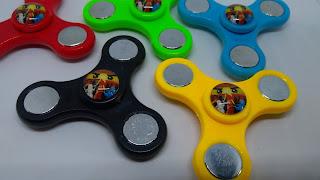 Giochi stellette ninja finger fidget spinner personalizzati personaggi Lego Ninjago gadgets fine festa di compleanno bambini a tema