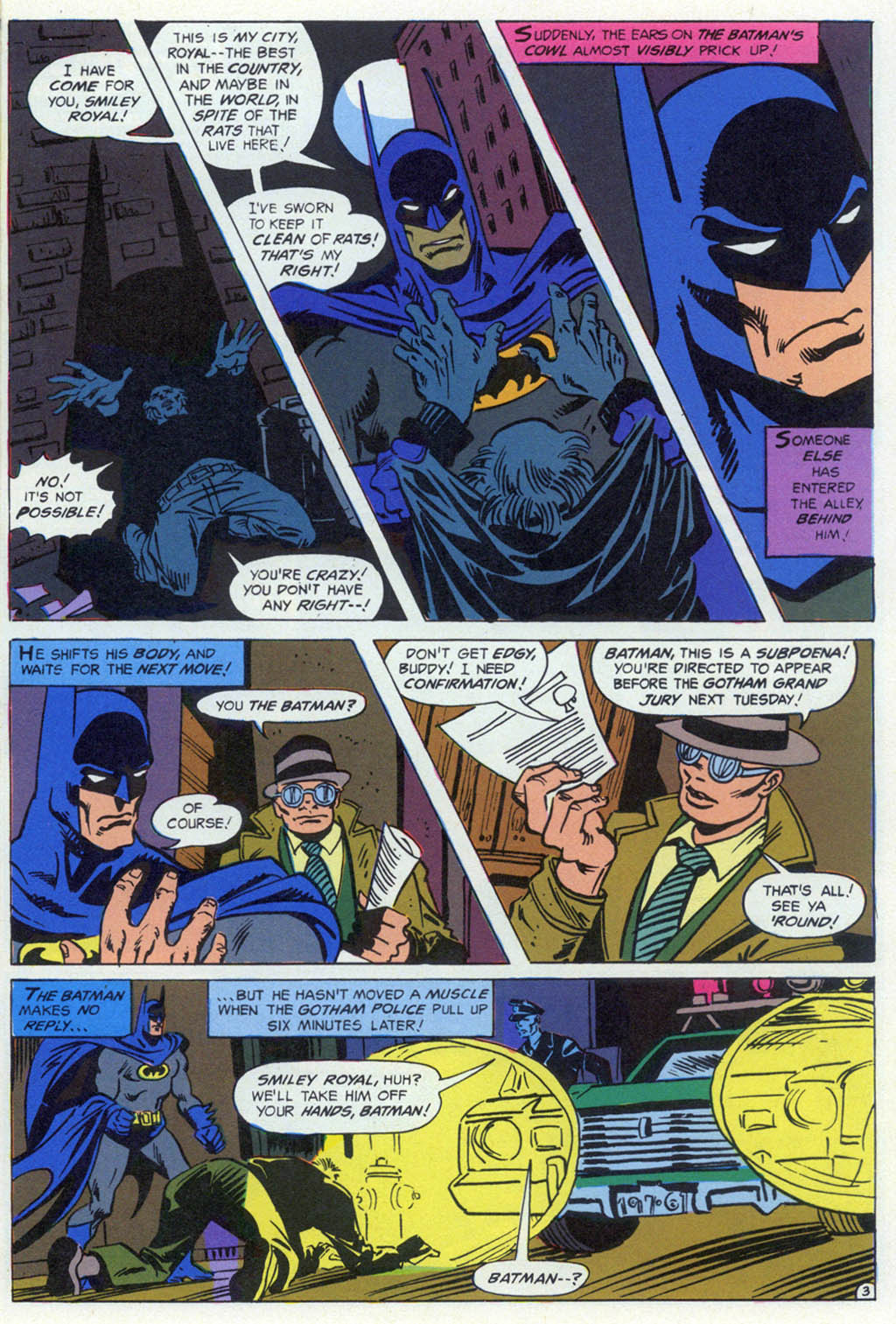 Read online Shadow of the Batman comic -  Issue #1 - 22