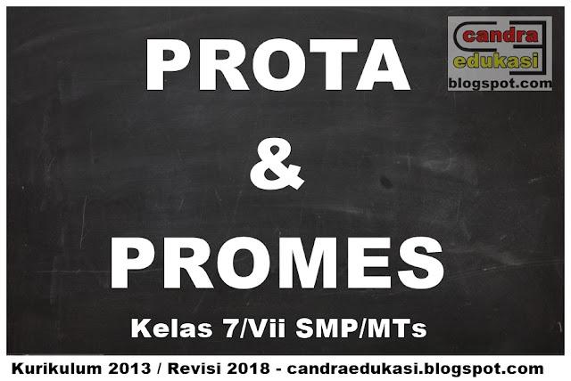 di blog edukasi yang sangat super sederhana ini PROTA Dan PROMES SMP Kelas 7 Kurikulum 2013 Revisi 2018