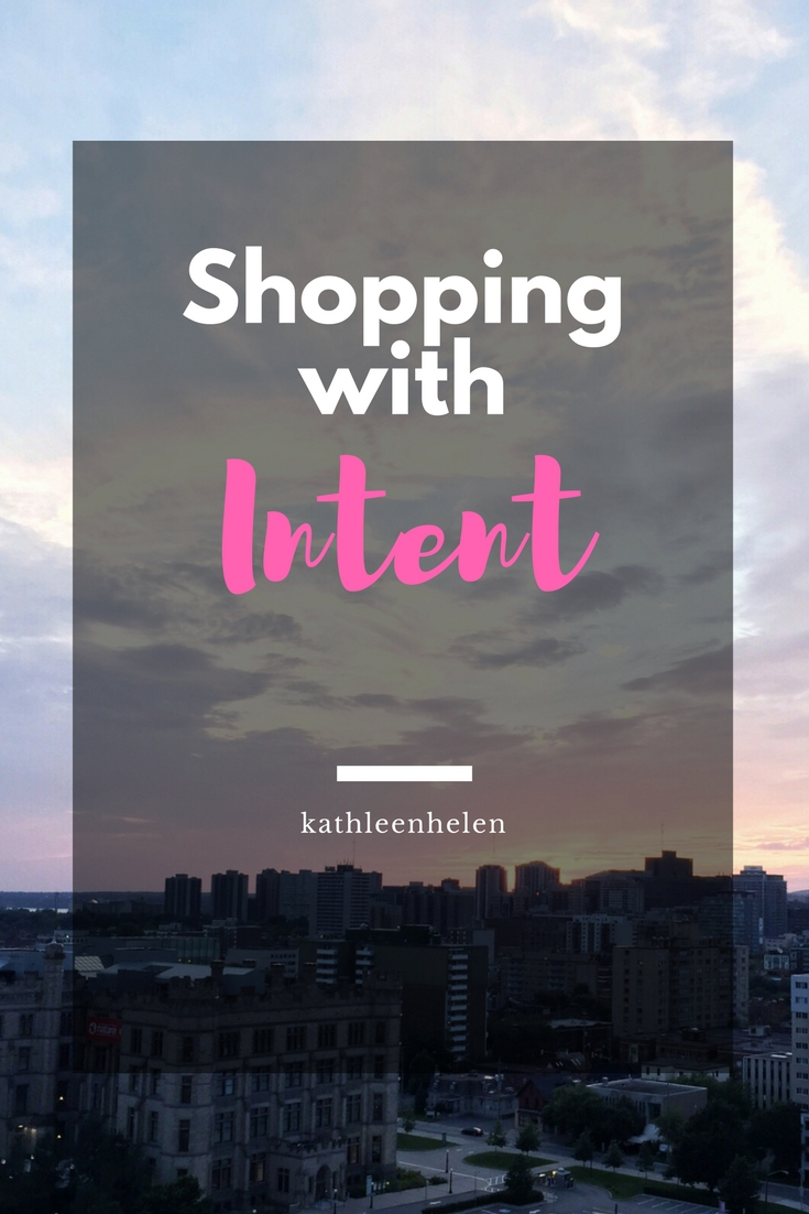 Shopping with Intent - A more relaxed, but hopefully still effective, version of the shopping ban   kathleenhelen