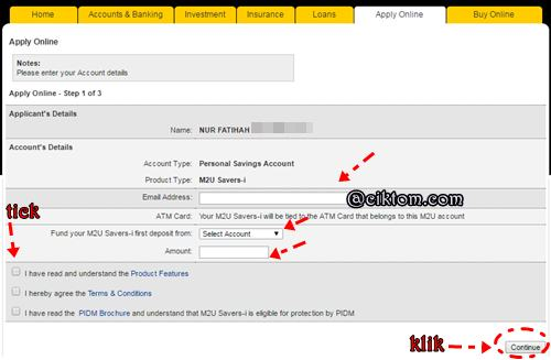 cara buka multiple account maybank2u