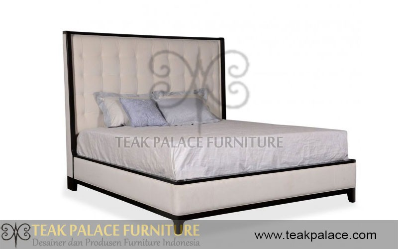 model tempat tidur kayu jati 1