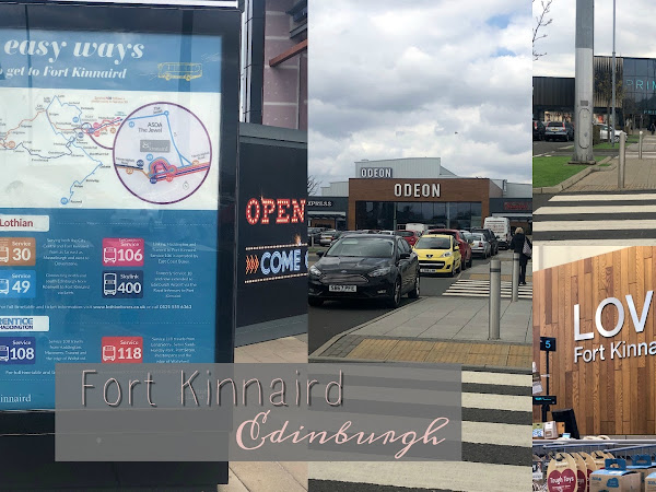 Fort Kinnaird, Edinburgh | Road Trip, Retail Therapy & Good Food
