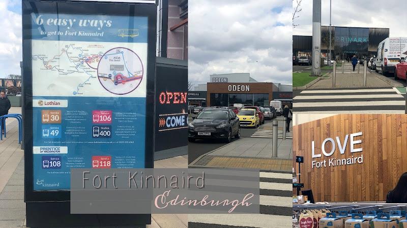 Fort Kinnaird, Edinburgh | Road Trip, Retail Therapy & Good Food