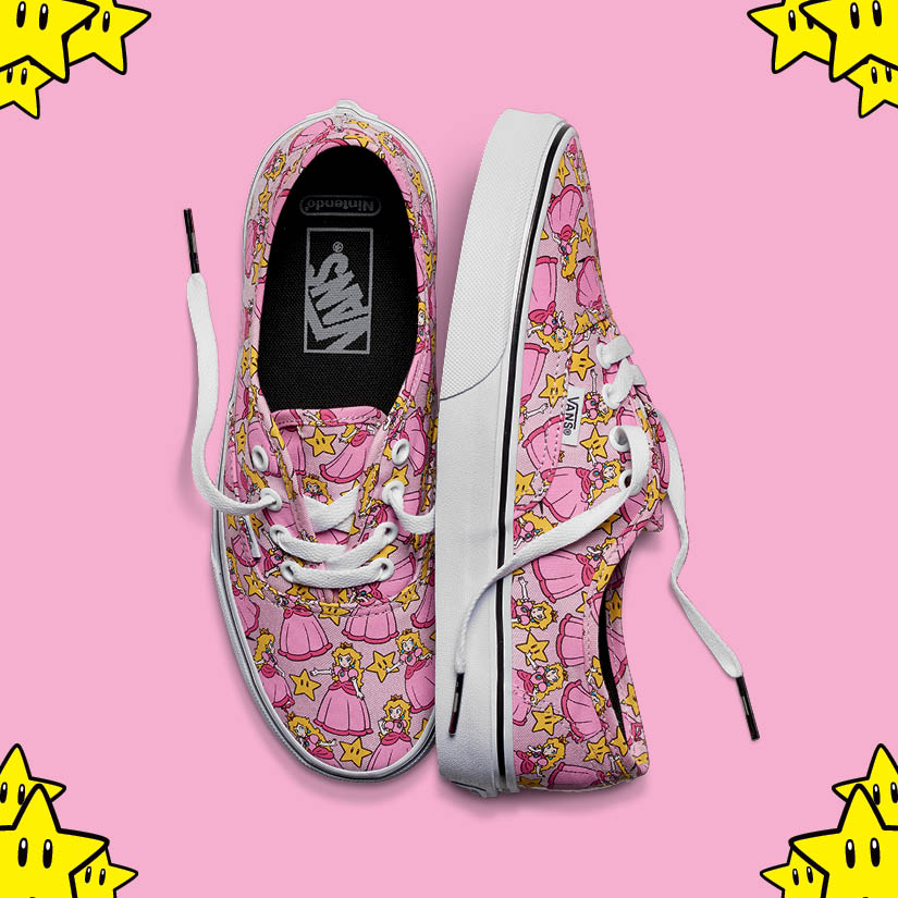 vans-x-nintendo, vans-nintendo, vans-Super-Mario-Bros, vans-zelda, vans-Duck-Hunt, vans-Donkey-Kong, vans-peach, vans-tie-dye, vans-power-up, vans-mario-bros, vans-princesse-peach, vans-game-over, vans-Classic-Slip-on, vans-Authentic, du-dessin-aux-podiums-dudessinauxpodiums