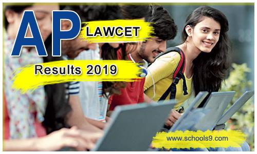 Andra Pradesh LAWCET & PGLCET Exam Results 2019