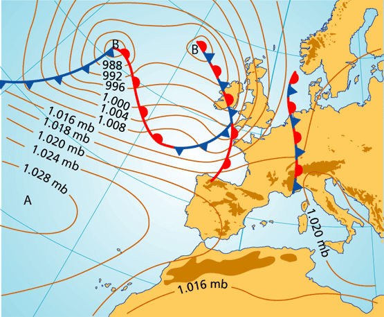 mapa metereologico Coleydeporte: MAPA METEREOLÓGICO. LOS ELEMENTOS DEL CLIMA. mapa metereologico