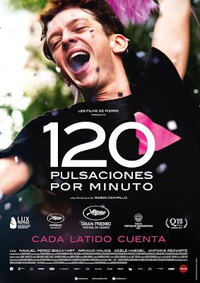 120 PULSACIONES POR MINUTO - Poster españa