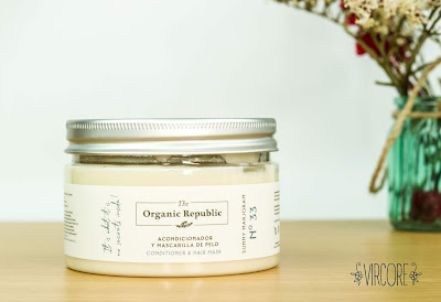 The Organic Republic mascarilla