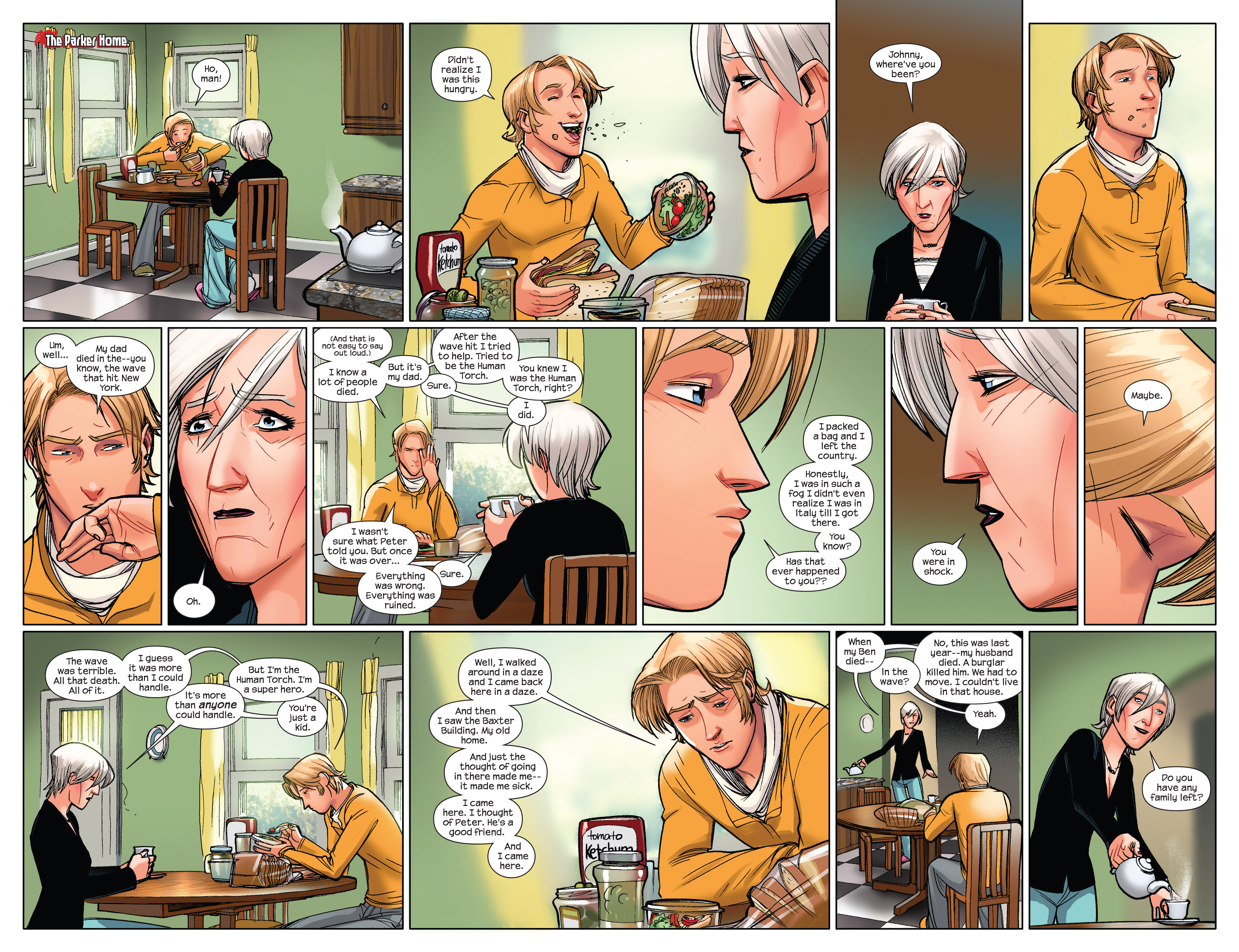 Read online Ultimate Spider-Man (2009) comic -  Issue #3 - 5