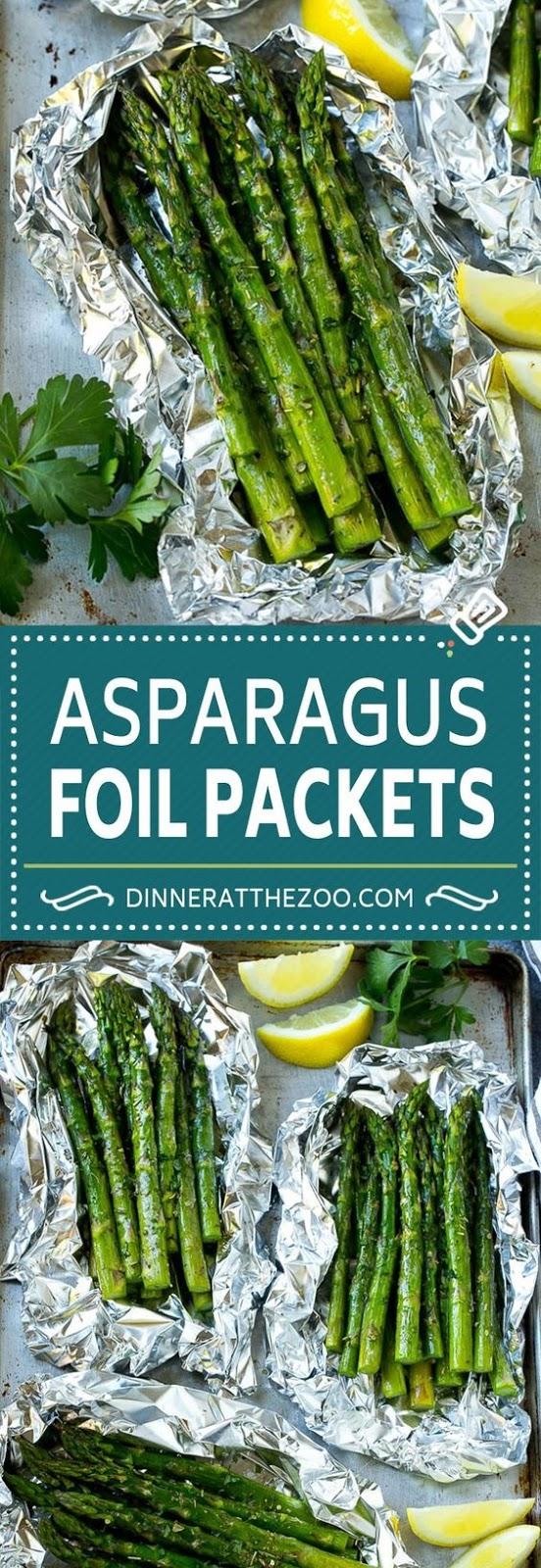 Grilled Asparagus In Foil