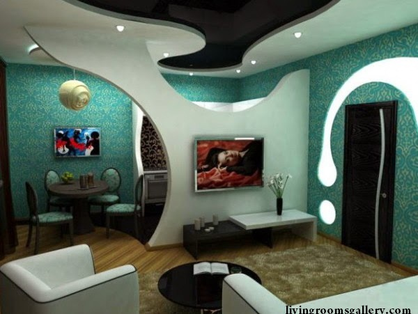 gypsum boards False Ceiling Designs with LED Ceiling Lighting Ideas