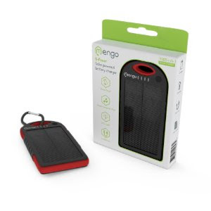 Solar Assist Charger  Shockproof/Water-Resistant 5300Mah Charger Power Bank lPgzHMO2SiyV