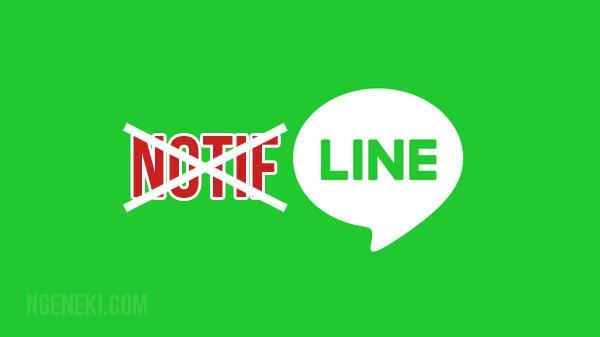 Cara Mematikan Notifikasi yang Masuk dari LINE di Android