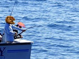 釣り人(素材使用)