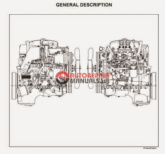 Isuzu 4ja1 4jh1 Tc Engine Service Manual Auto Repair