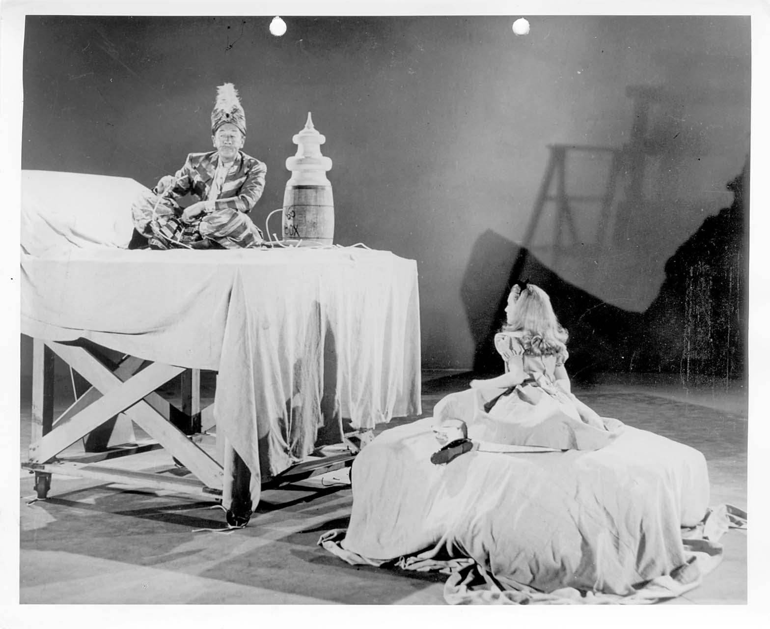 Vintage Disney Alice In Wonderland Live Action Reference