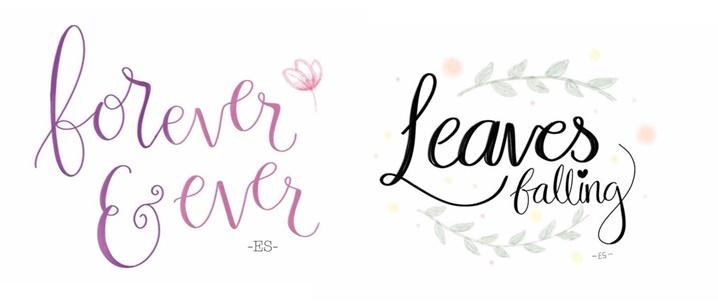 digital lettering calligraphy