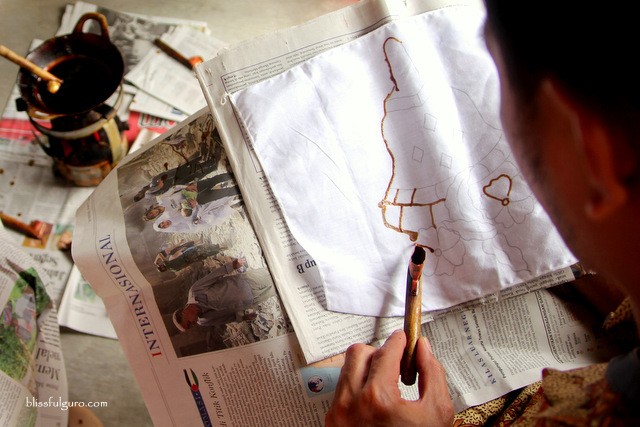 Batik-making Indonesia