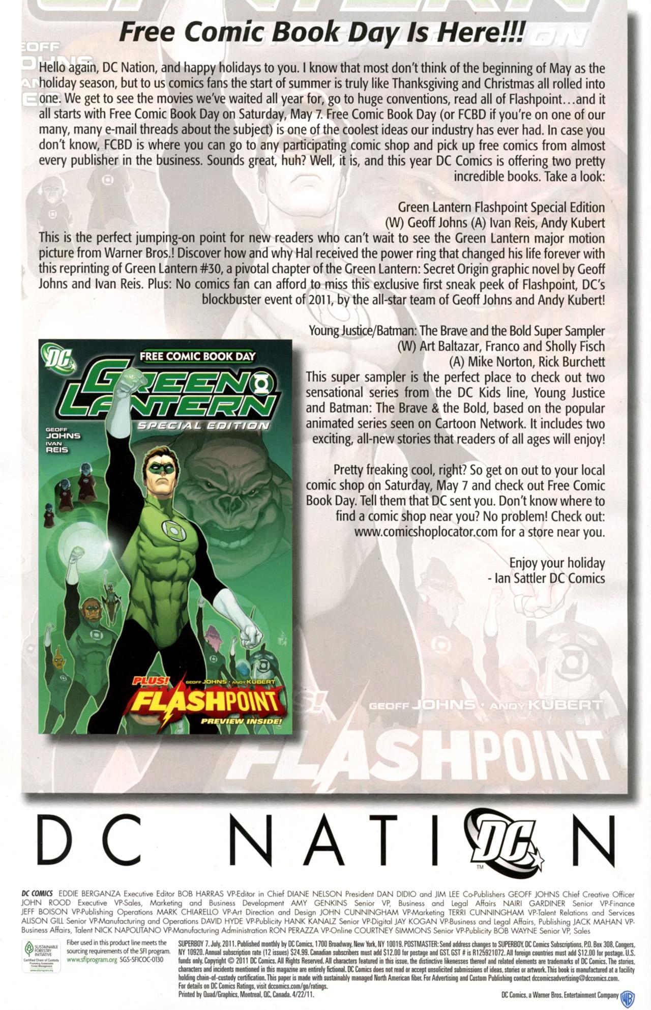 Superboy [I] Issue #7 #7 - English 32