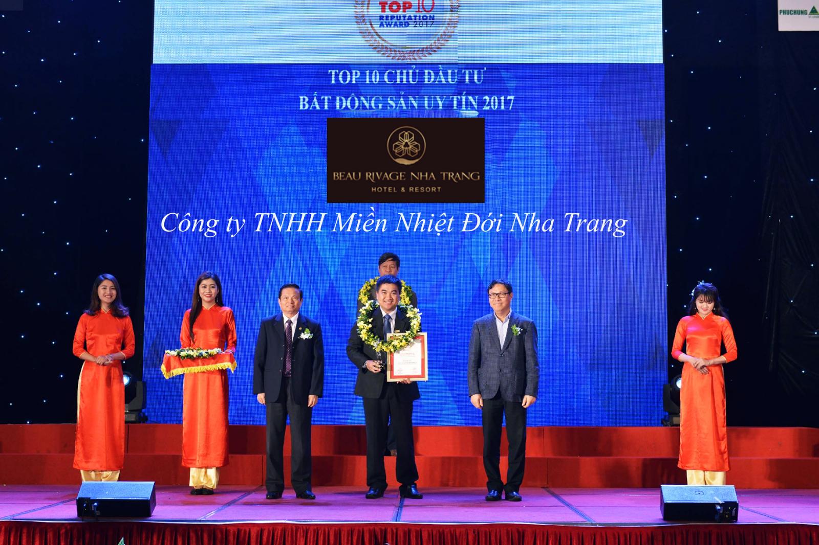 Chủ đầu tư uy tín của Beau Rivage Nha Trang