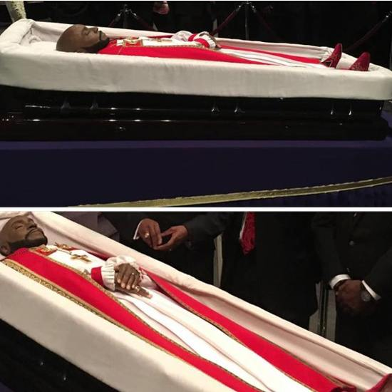 eddie long burial photos