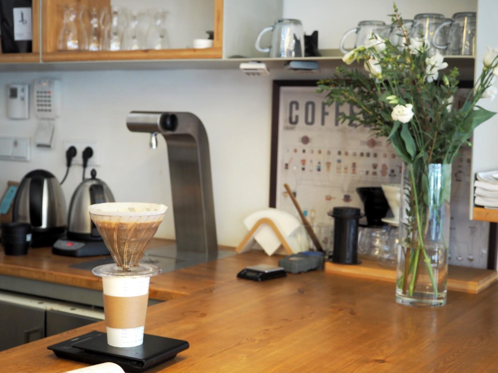 ema espresso bar praha kavárna