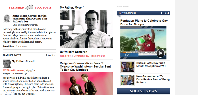 Huffpo And Living Room Conversations