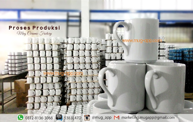 Pabrik Mug Coating / Mug Digital Printing