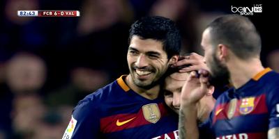 Copa Del Rey : Barcelona 7 vs 0 Valencia 03-02-2016