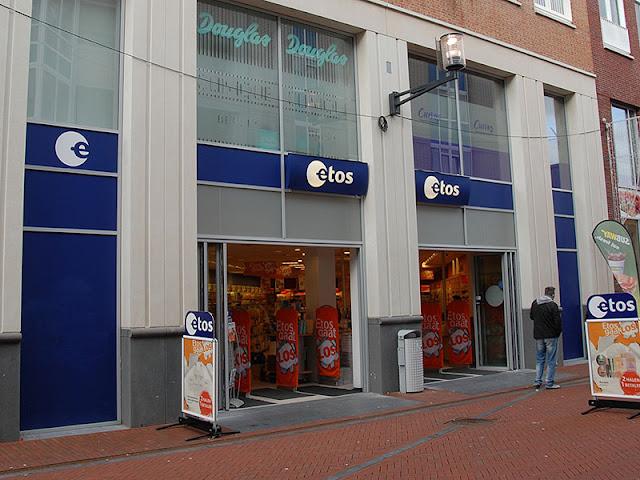 Loja de maquiagem Etos em Amsterdã