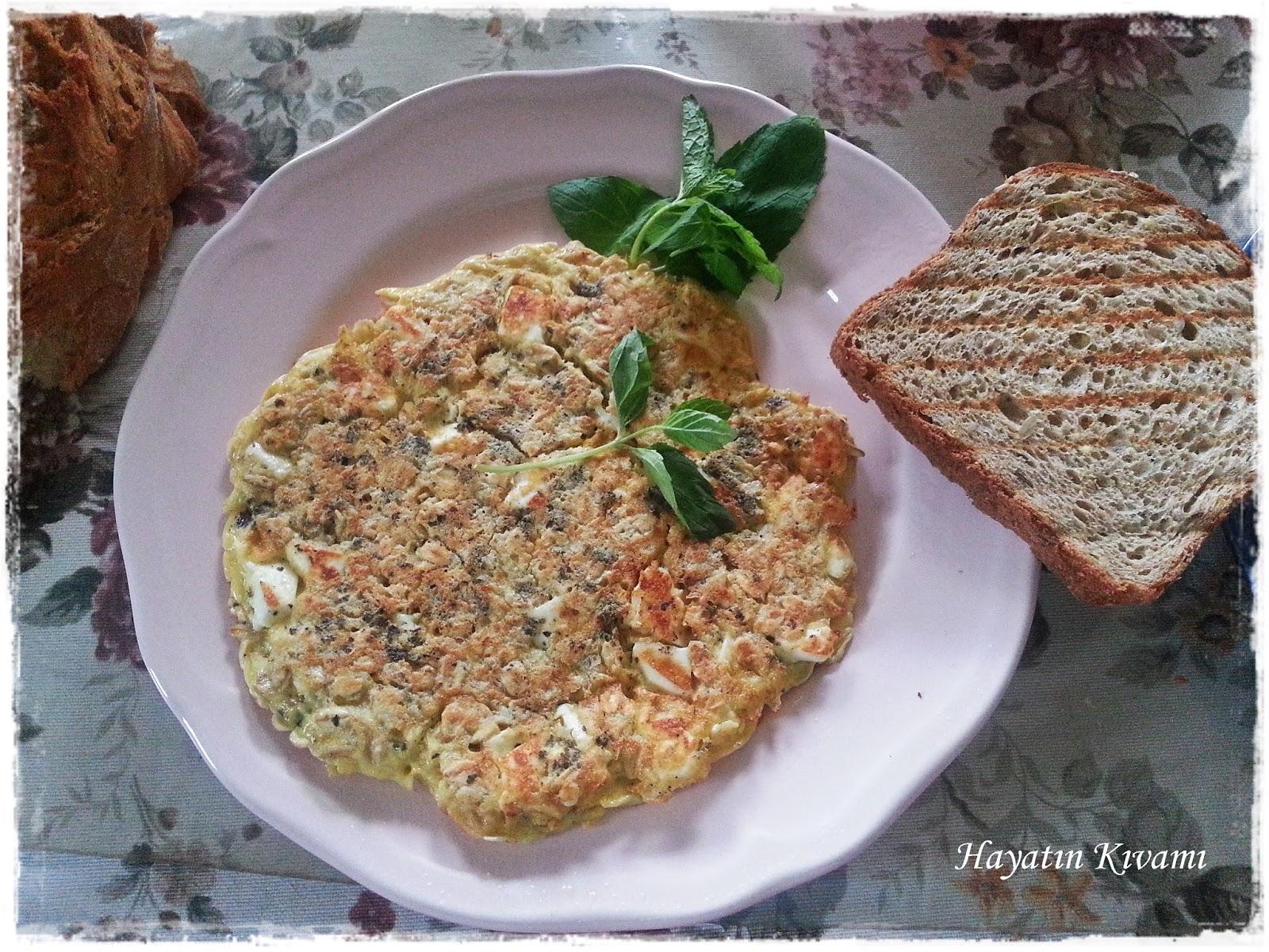 İrmikli Omlet