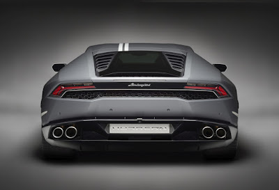 Lamborghini Huracan Avio special edition Rear view HD Wallpaper