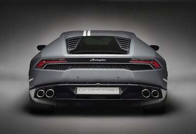 Lamborghini Huracan Avio special edition Rear view HD Wallpaper